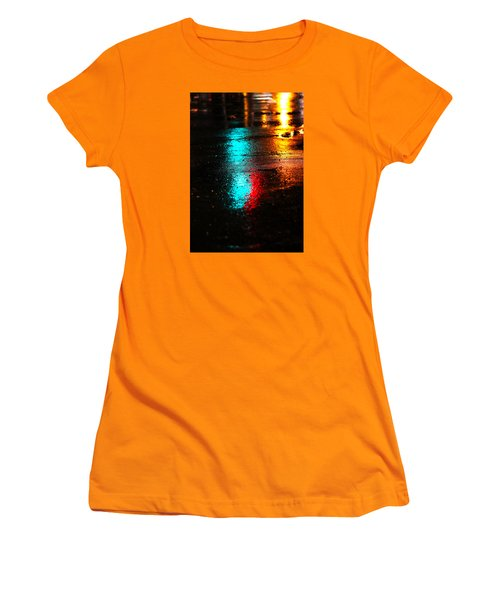 Women's T-Shirt (Junior Cut) featuring the photograph The Memory Lane by Prakash Ghai