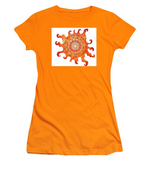The New Sun Women's T-Shirt (Junior Cut) by Patricia Arroyo