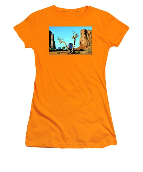 The North Window Women's T-Shirt (Athletic Fit)