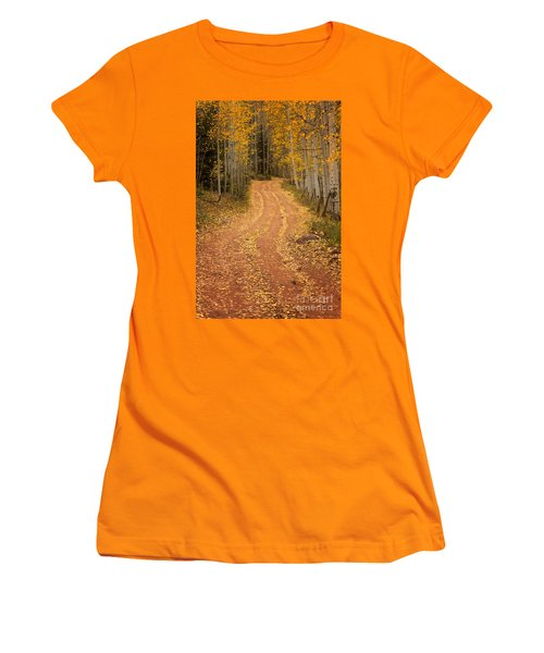 The Pathway To Fall Women's T-Shirt (Athletic Fit)