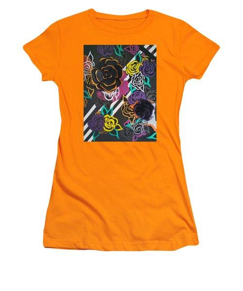 The Petals Of Prosperity Women's T-Shirt (Athletic Fit)