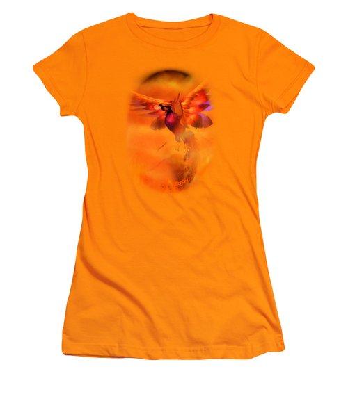 The Phoenix Women's T-Shirt (Junior Cut) by Brandy Thomas