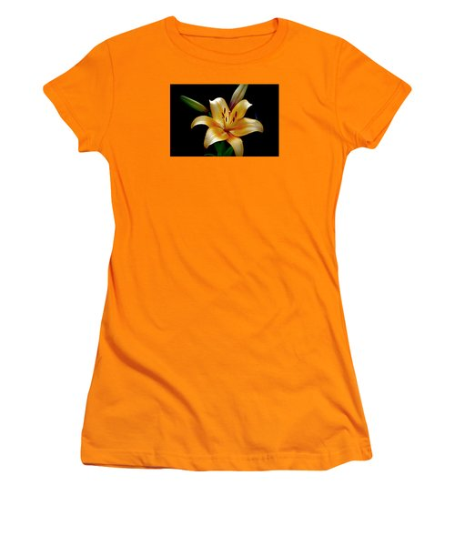 The Queen Lily Women's T-Shirt (Junior Cut) by Karen McKenzie McAdoo