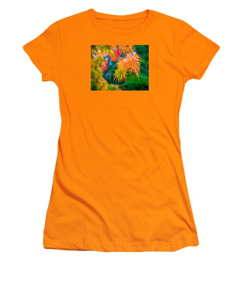 Women's T-Shirt (Junior Cut) featuring the photograph The Rainy Bunch by Ken Stanback