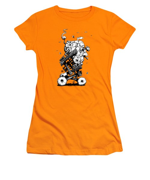 The Ratmobile Women's T-Shirt (Athletic Fit)