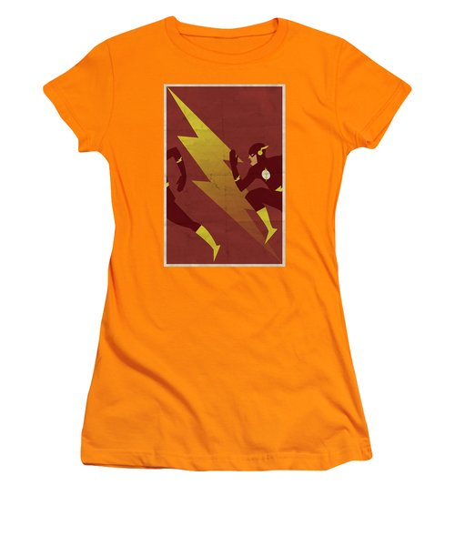 The Scarlet Speedster Women's T-Shirt (Athletic Fit)