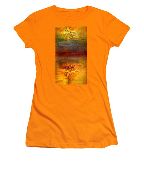 The Soul Dances Like A Tree In The Wind Women's T-Shirt (Athletic Fit)