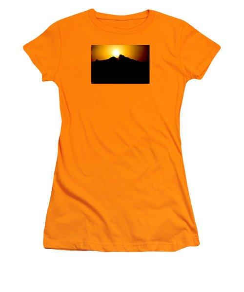 Women's T-Shirt (Junior Cut) featuring the photograph The Sun Feeds Me by Jez C Self
