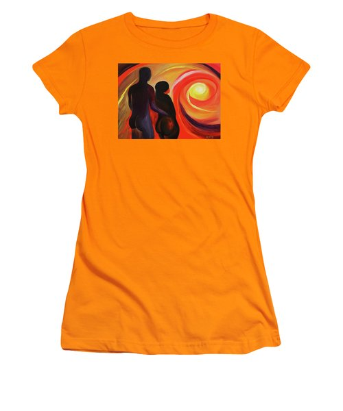 The Sunset Of Our Dreams Women's T-Shirt (Athletic Fit)