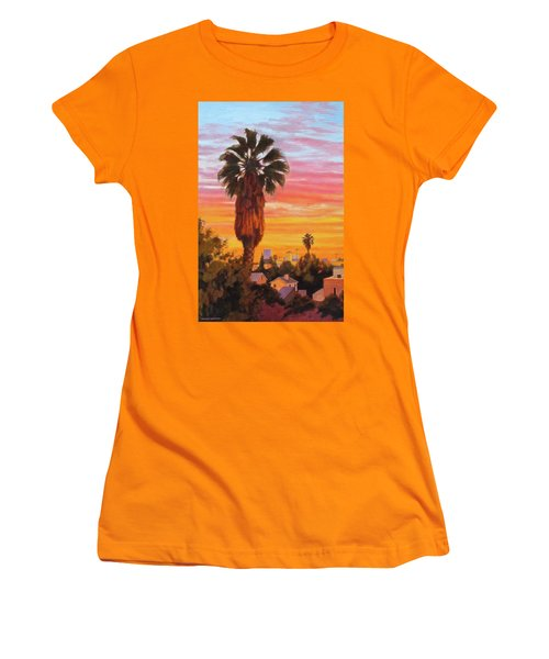 The Urban Jungle Women's T-Shirt (Junior Cut) by Andrew Danielsen