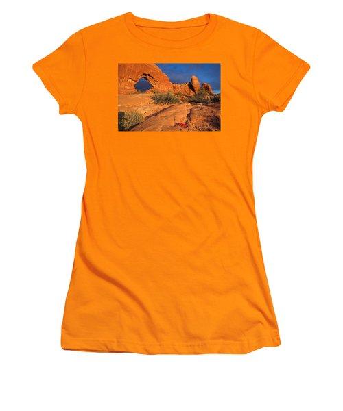 Women's T-Shirt (Junior Cut) featuring the photograph The Window by Steve Stuller