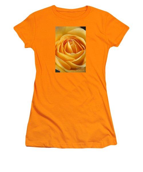 The Yellow Rose Women's T-Shirt (Junior Cut) by Joy Watson