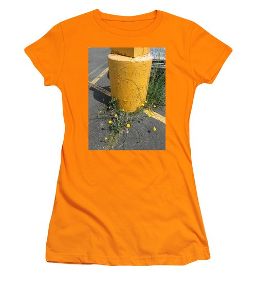 Women's T-Shirt (Junior Cut) featuring the photograph They Are Still        Here by Marie Neder