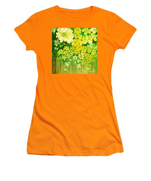 This Summer Fields Of Flowers Women's T-Shirt (Athletic Fit)