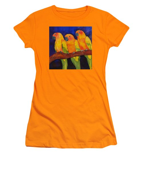 Three Amigos Women's T-Shirt (Athletic Fit)