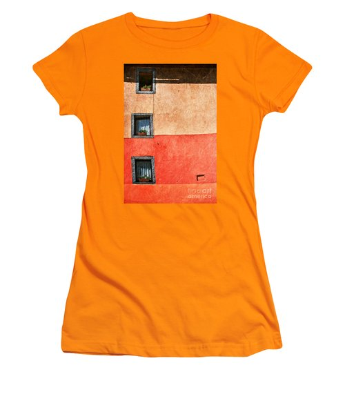 Three Vertical Windows Women's T-Shirt (Junior Cut)