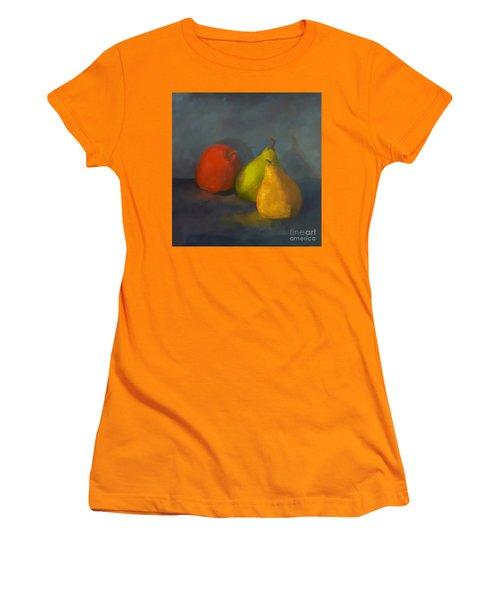 Three's A Crowd Women's T-Shirt (Junior Cut) by Genevieve Brown