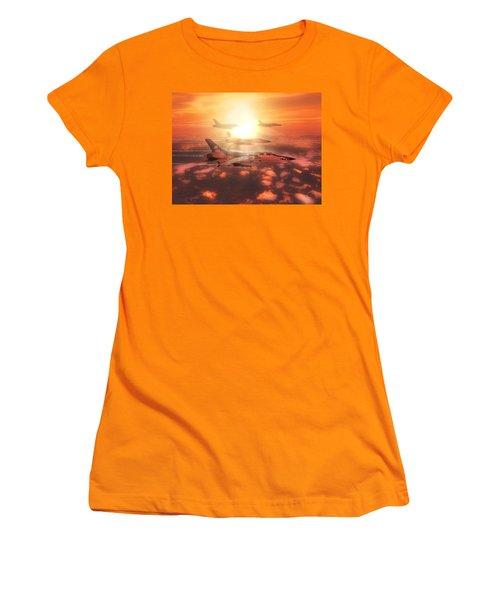 Thunderchief Dawn Women's T-Shirt (Athletic Fit)