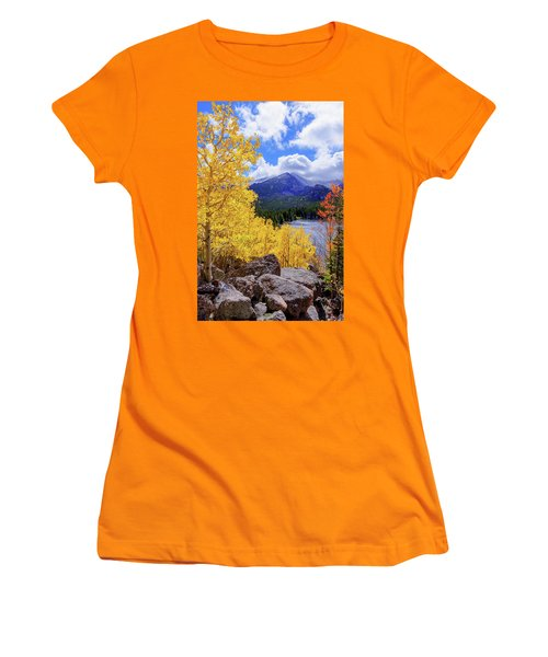 Women's T-Shirt (Junior Cut) featuring the photograph Time by Chad Dutson