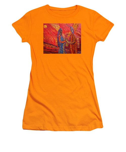 To Be My Second Self... Women's T-Shirt (Junior Cut) by Vadim Levin