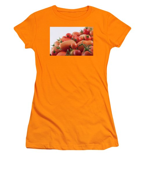 Women's T-Shirt (Athletic Fit) featuring the photograph Tomato Hill by James BO Insogna