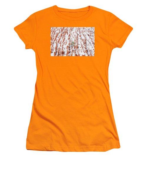 Tonan, The Aztec Goddess Of Winter Solstice  Women's T-Shirt (Junior Cut) by Bijan Pirnia