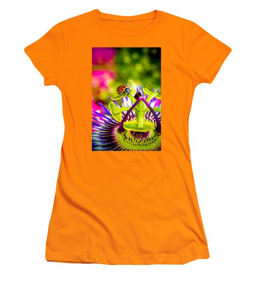 Women's T-Shirt (Junior Cut) featuring the photograph Too Much Of Heaven by TC Morgan