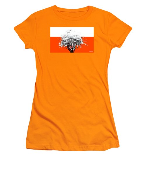 Tree Of Feelings Women's T-Shirt (Athletic Fit)