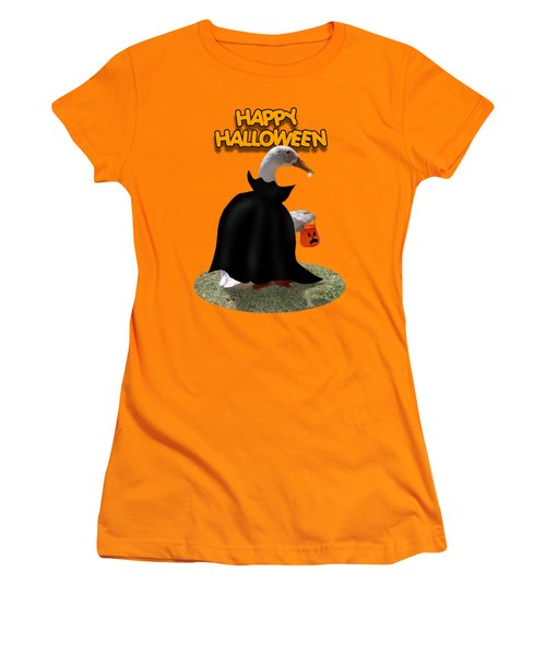 Trick Or Treat For Count Duckula Women's T-Shirt (Athletic Fit)