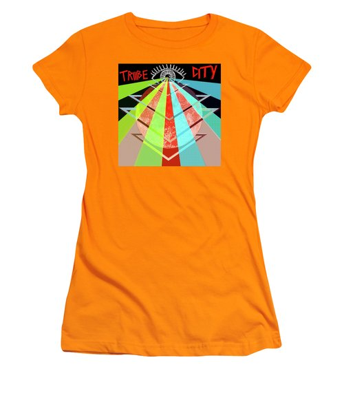 Triiibe City For Bxdizzy419 Women's T-Shirt (Athletic Fit)