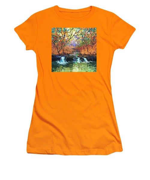 Triple Rhythm Women's T-Shirt (Athletic Fit)