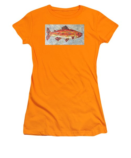 Trudy The Trout Women's T-Shirt (Athletic Fit)
