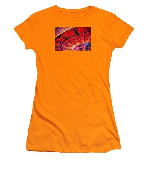 Tulare Fairgrounds Women's T-Shirt (Junior Cut) by John Swartz