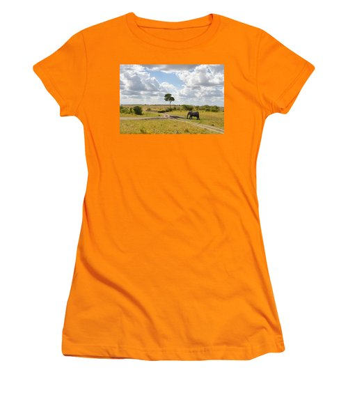Tusker Scape Women's T-Shirt (Athletic Fit)