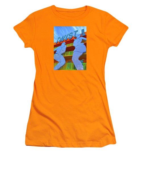 Twist Women's T-Shirt (Junior Cut) by Beth Saffer