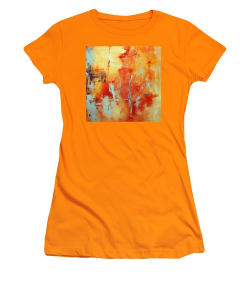 Uncharted Destination Women's T-Shirt (Athletic Fit)