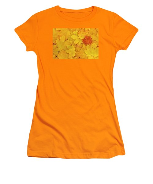 Women's T-Shirt (Junior Cut) featuring the photograph Understory by Tony Beck