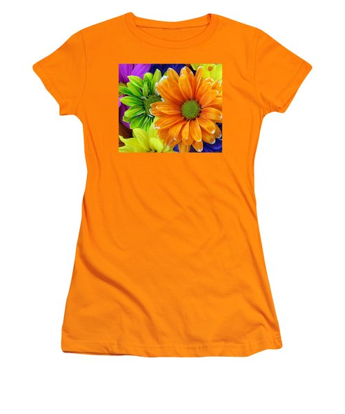 Upstaged By Orange Women's T-Shirt (Athletic Fit)