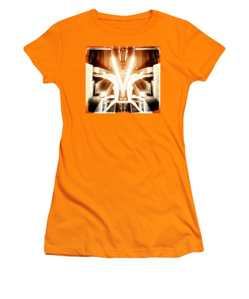 V For Victory Women's T-Shirt (Junior Cut) by Andrea Barbieri
