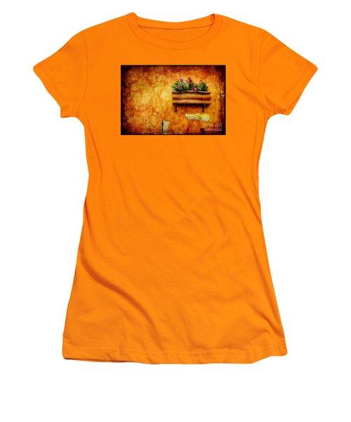 Vase Women's T-Shirt (Junior Cut) by Silvia Ganora