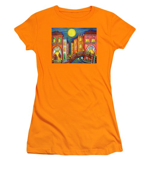 Venice Soiree Women's T-Shirt (Athletic Fit)