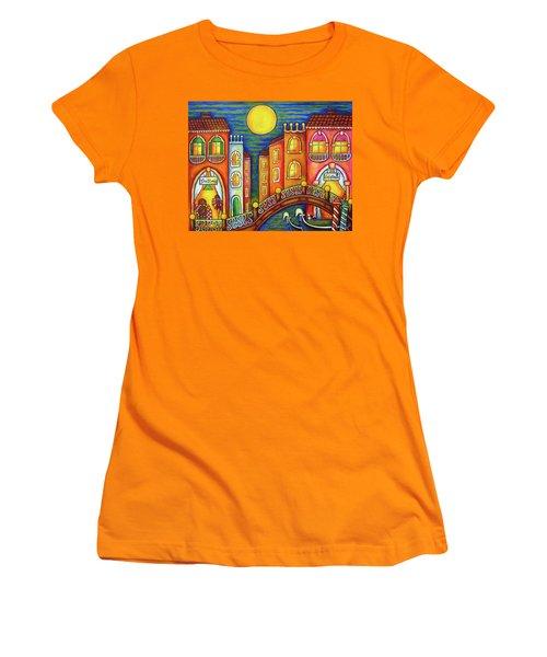 Venice Soiree Women's T-Shirt (Athletic Fit)