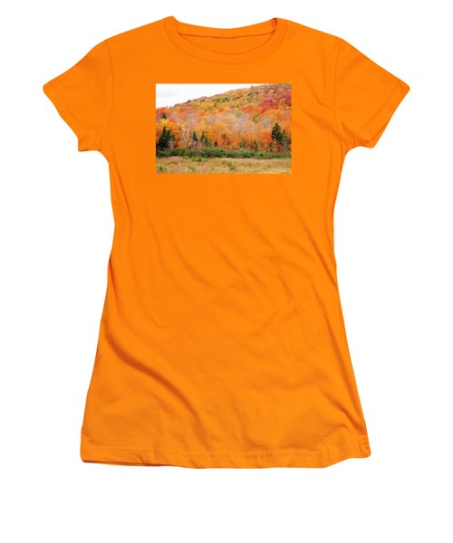 Vermont Foliage Women's T-Shirt (Athletic Fit)
