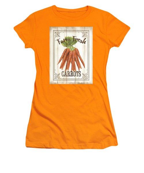 Vintage Fresh Vegetables 3 Women's T-Shirt (Athletic Fit)