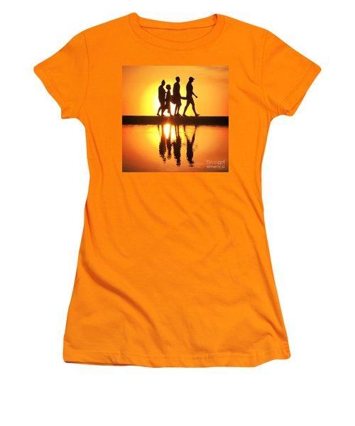 Walking On Sunshine Women's T-Shirt (Junior Cut) by LeeAnn Kendall