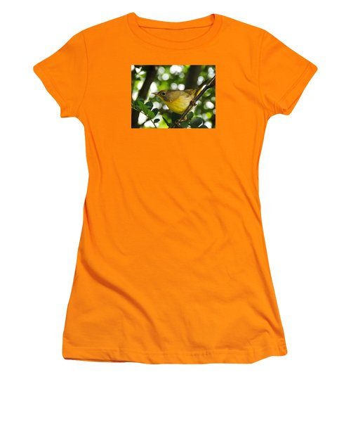 Women's T-Shirt (Junior Cut) featuring the photograph Watching The Season Change by Zinvolle Art