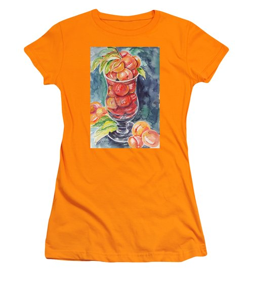Watercolor Series No. 214 Women's T-Shirt (Athletic Fit)