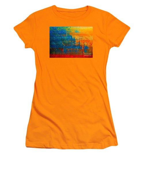 Waterloo Sunset Women's T-Shirt (Athletic Fit)