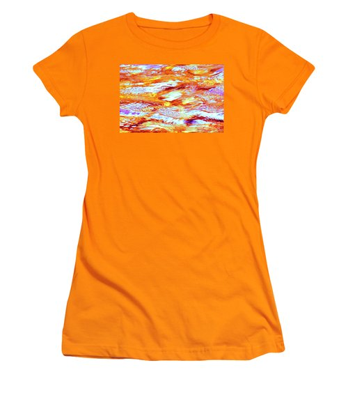Waves Of Light Women's T-Shirt (Athletic Fit)