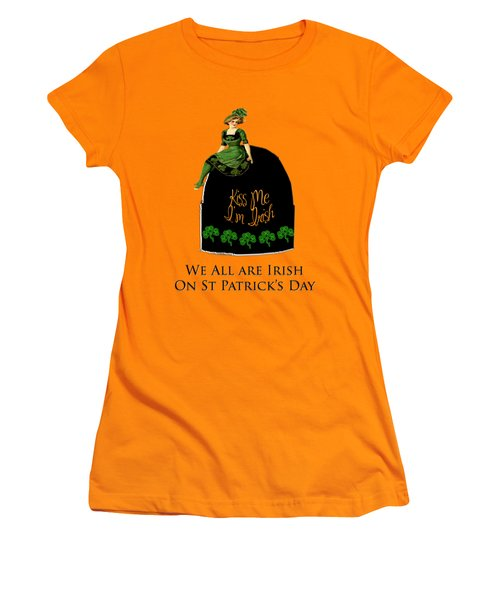 We All Irish This Beautiful Day Women's T-Shirt (Athletic Fit)